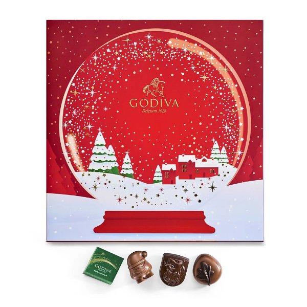 2020年圣诞倒数日历巧克力礼盒