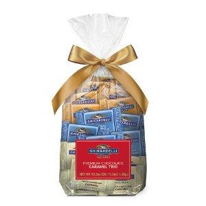 Ghirardelli3口味焦糖巧克力夹心方块 80块装