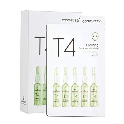 T4 舒缓清润茶精粹安瓶面膜