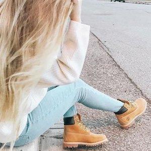 额外7折+额外9折 收大黄靴Timberland  官网冬日大促 精选男、女式美鞋热卖