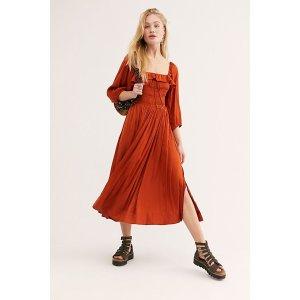 Free PeopleShiny Oasis Midi Dress