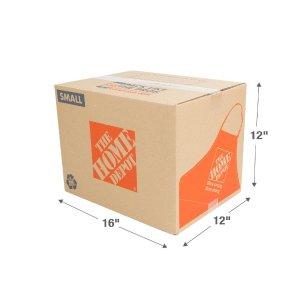 The Home Depot小号打包纸箱