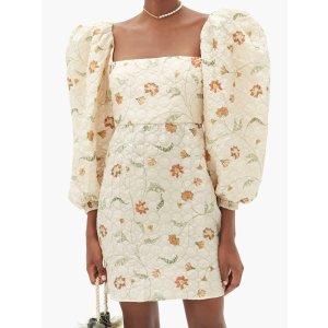 真丝复古连衣裙