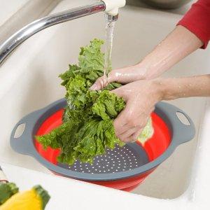 $7.48TedGem 折叠式蔬果沥水盆 2个