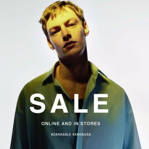 Up to 50% OFFZara Semi-Annual Men's Sale
