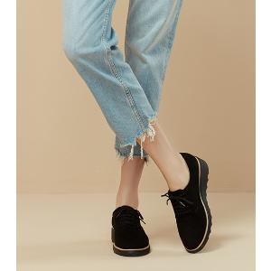 原89.95欧 折后仅60欧clarks Sharon Noel系带坡跟厚底超轻女鞋 史低超划算特价