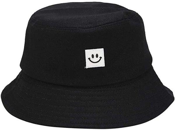 IUAQDP 笑脸双面渔夫帽