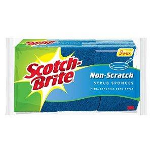 $6.31 包邮Scotch-Brite 防刮清洁海绵 9块