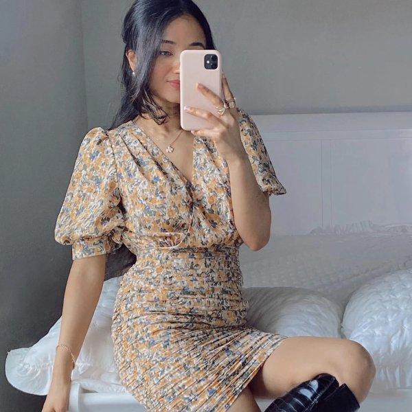 Dierdre Floral 连衣裙