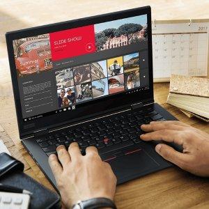 i5-8250U, 8GB, 256GB, 触屏 $1136Lenovo独家优惠 ThinkPad X1 Yoga 第3代 立享6.8折