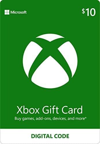 $10 Xbox 数字礼卡