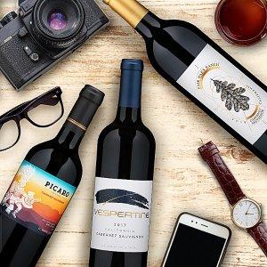 夏季推荐款赤霞珠红葡萄酒套装 3瓶装