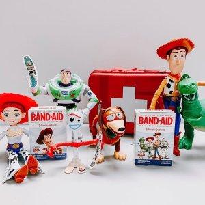 全场8折 家有神兽必备Band-Aid 迪士尼合作款 日常必备 自备创可贴 不做林有有