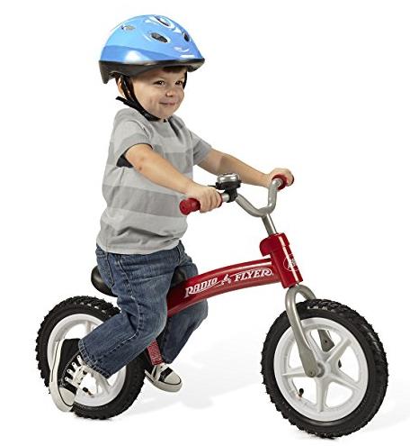 Glide N Go 儿童平衡自行车 红色