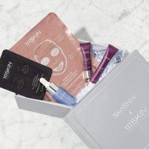变相2.3折 $114(价值$500+)SkinStore x 111SKIN 限量联名礼盒 含正装冰萃能量精华