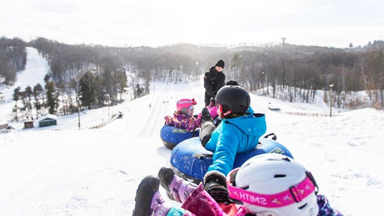 多伦多周边冬季滑雪道轮胎(Snow Tubing), 这份地图+攻略一定要收好!