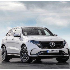 402匹马力 280英里续航2020 Mercedes Benz EQC 奔驰首台纯电动SUV