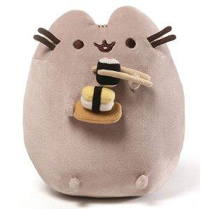 Amazon GUND Pusheen Snackables Sushi Chopsticks Plush Stuffed Animal Cat, 9.5