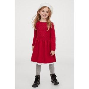 H&M女童连衣裙