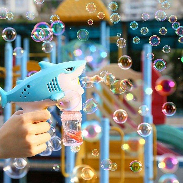 鲨鱼泡泡神器