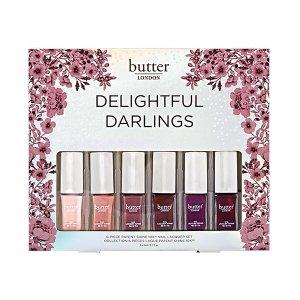 Butter LondonBuy 1 get 1 freeDelightful Darlings Nail Polish Set