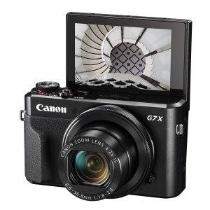 低至7折起Amazon 精选相机好价 佳能G7X、Sony黑卡等Vlog博主神器