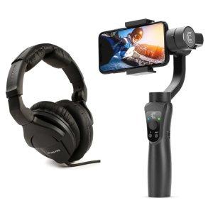 Sennheiser HD 280 PRO 专业监听耳机 + Clar 手持云台