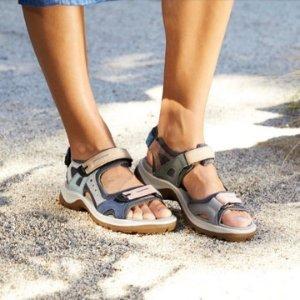 36码好价¥426 库存少ECCO Yucatan 女士休闲涉水凉鞋