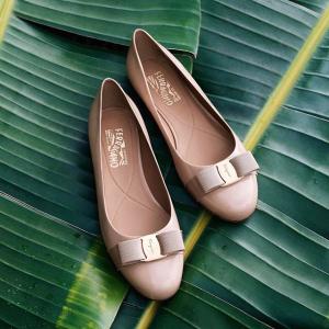 低至7.5折 收蝴蝶结平底鞋Salvatore Ferragamo 精选美鞋、美包热卖
