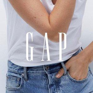 低至3折+额外6折+再9折Gap 官网 时尚休闲美衣特卖,收新款毛衣,小西装