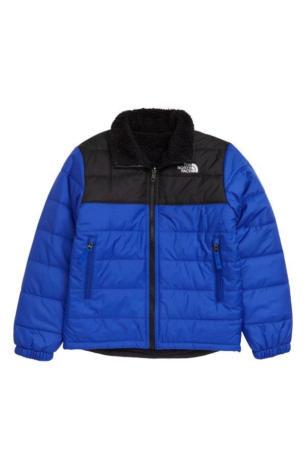 儿童保暖双面穿外套