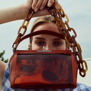 低至6折 透明盒子包$200Gu_De 手袋时尚私卖会 入手简约盒子包