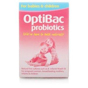 OptiBac Probiotics儿童益生菌