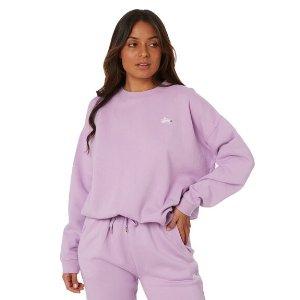 Stussy 香芋紫卫衣