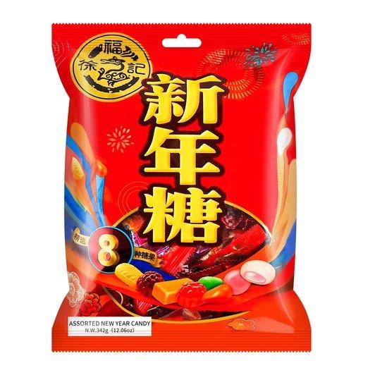 徐福记 新年糖 袋装 342g - 亚米网