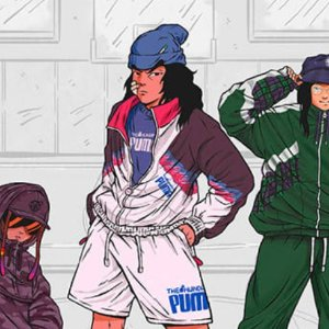 $50起+免邮上新:PUMA x THE HUNDREDS 联名男装 潮范儿街头