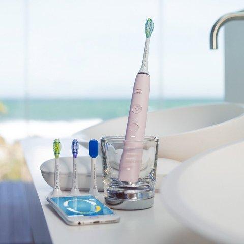 无门槛5折+全球免邮 单只$110独家:Philips 2019新版钻石靓白 女神 男神牙刷