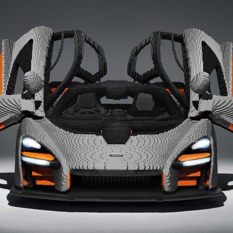 花费4935小时 以假乱真Lego 1:1高还原系列 McLaren Senna 迈凯伦塞纳
