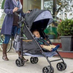 $147.89(原价$169.99)+免邮Summer Infant 3D 轻便型童车 带遮阳篷  辣妈出街必备