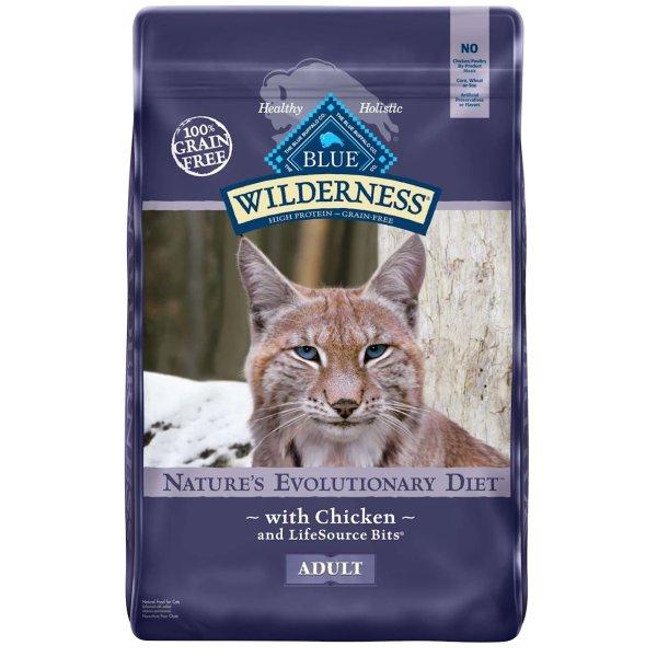 Wilderness 无谷物成年猫粮12磅