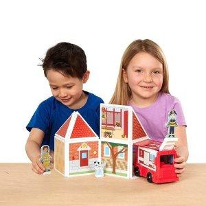 低至5折 磁铁玩具$3Melissa & Doug 儿童玩具特卖 儿童安全剪刀两件套$2.5