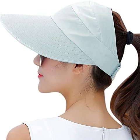 HINDAWI 女士户外宽边遮阳帽 防紫外线必备