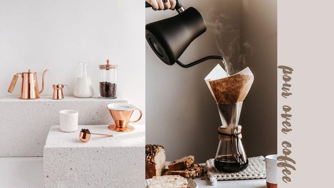 手冲咖啡入门器具大科普!咖啡小白也能在家做美味手冲!