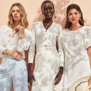 Last Day: 40% Off 1 or 50% Off 2 Full Price Tops@Ann Taylor
