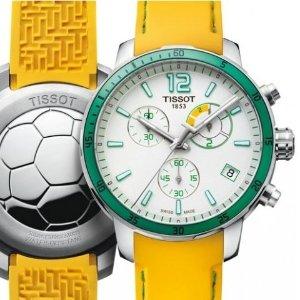 额外减$40 $139.99+包邮免税史低价:TISSOT Quickster 世界杯男表