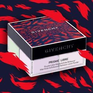 至高送$600礼卡Givenchy 美妆护肤品热卖 收限量4宫格散粉
