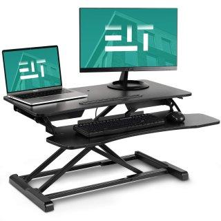 $129.99EleTab 双层高度可调立式办公电脑桌 32吋