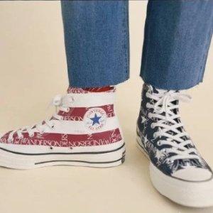 鸳鸯款帆布鞋$120JW Anderson联名Converse 联名上新