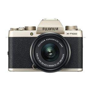 FujifilmX-T100 金色