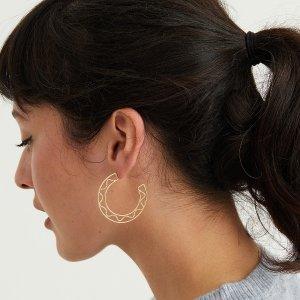 低至3折 £6收耳钉Oliver Bonas 平价饰品热促 可爱小清新 元气少女值得拥有